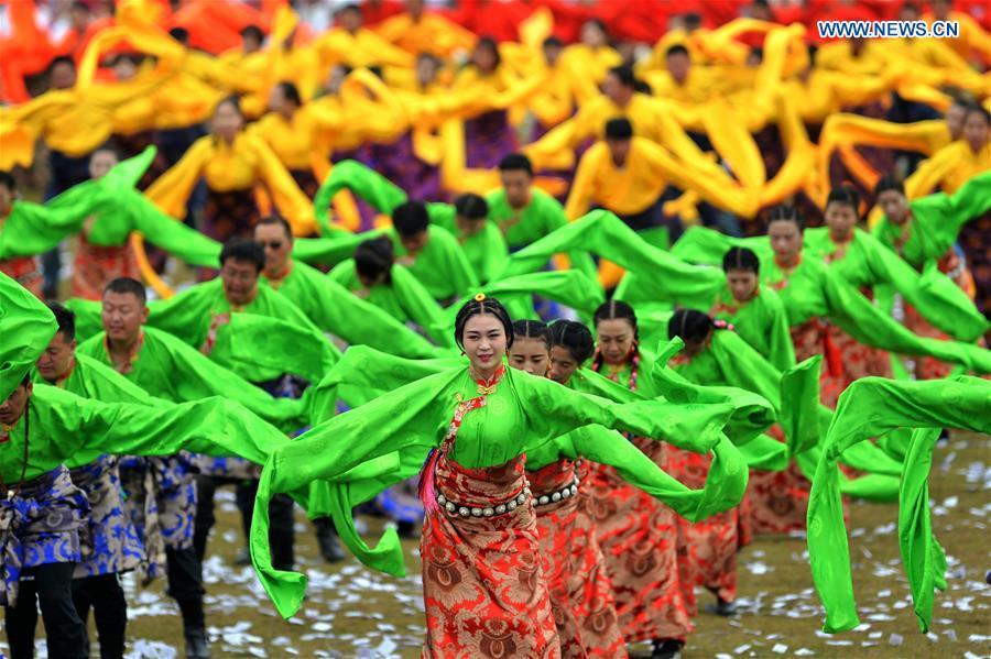 17th Gannan Shambhala Tourism Festival kicks off in NW China