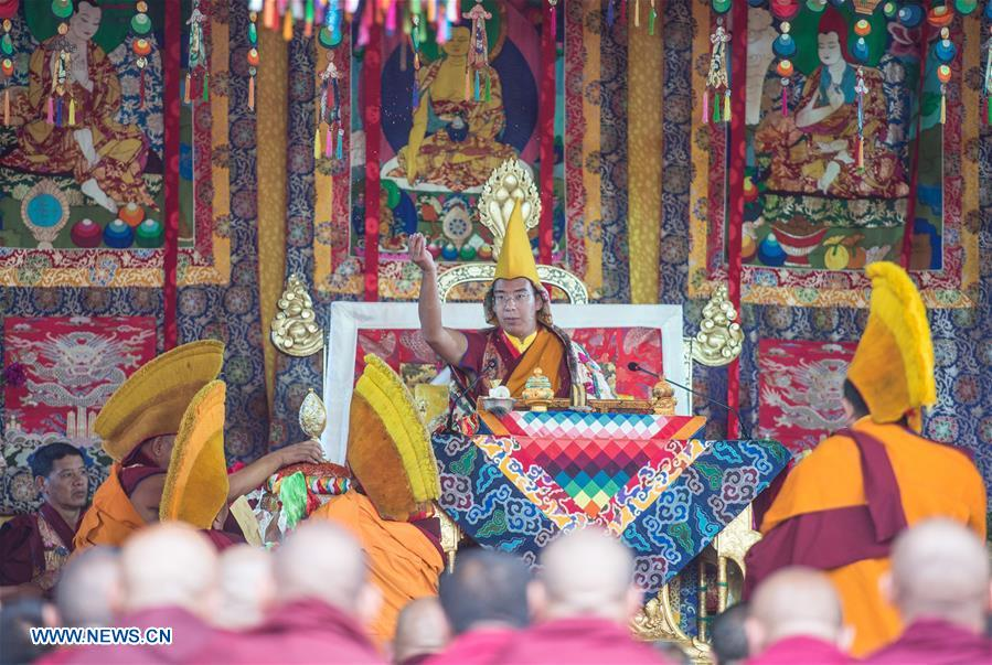 Panchen Lama starts Kalachakra ritual in Shigatse