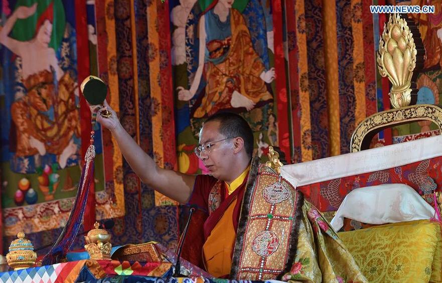 In pics: 2nd day of Kalachakra ritual in SW China's Tibet