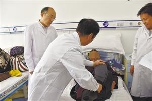 """""""中国集善扶贫关节康复公益项目""""西藏定点医院挂牌"""