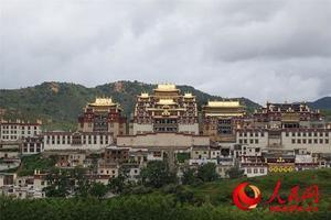 中国和平统一促进会主办 海外华文媒体访云南藏区