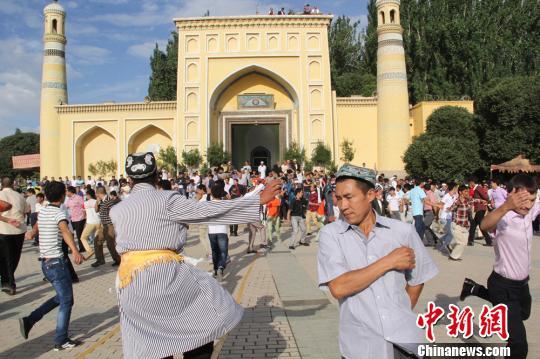 Xinjiang muslims prepare for Eid al-Fitr