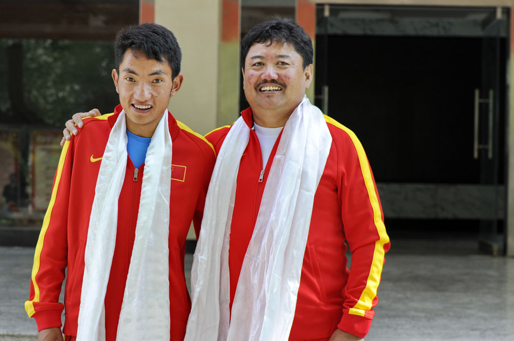 Spirit of young Tibetans demonstrated in Rio