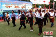 """青海贵德""""运动会""""成为少数民族聚居地新节日"""