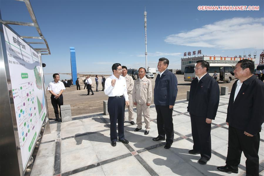 Xi Jinping führt Inspektionstour in Qinghai durch