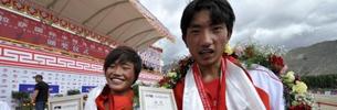 Tibetischer Läufer beendete seine olympische Reise