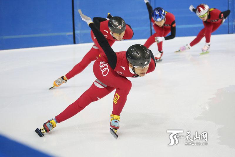 速度滑冰的训练图解