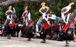 西藏拉萨:罗布林卡七天藏戏迎雪顿