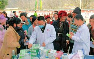 泸州市中医医院药剂科医生谢键 仁心援藏区