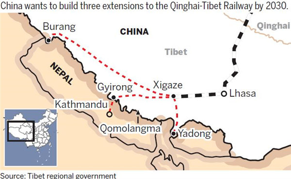 Himalayan rail route endorsed