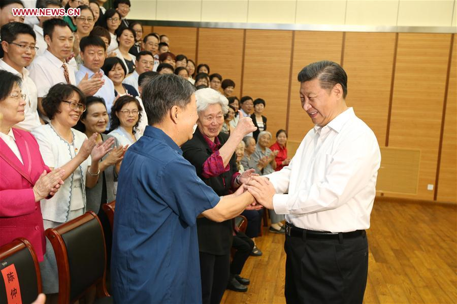 President Xi calls for education equality when visiting school