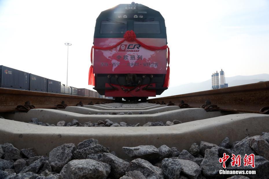 China Railway Express takes Tibetan products to Europe