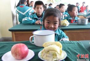 陕西全面推动农村义务教育学生营养改善计划