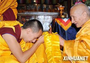 Der Abhisheka-Meister des 11. Panchen Lama