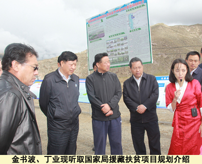 金书波在西藏山南市扎囊县调研国家局援藏扶贫项目