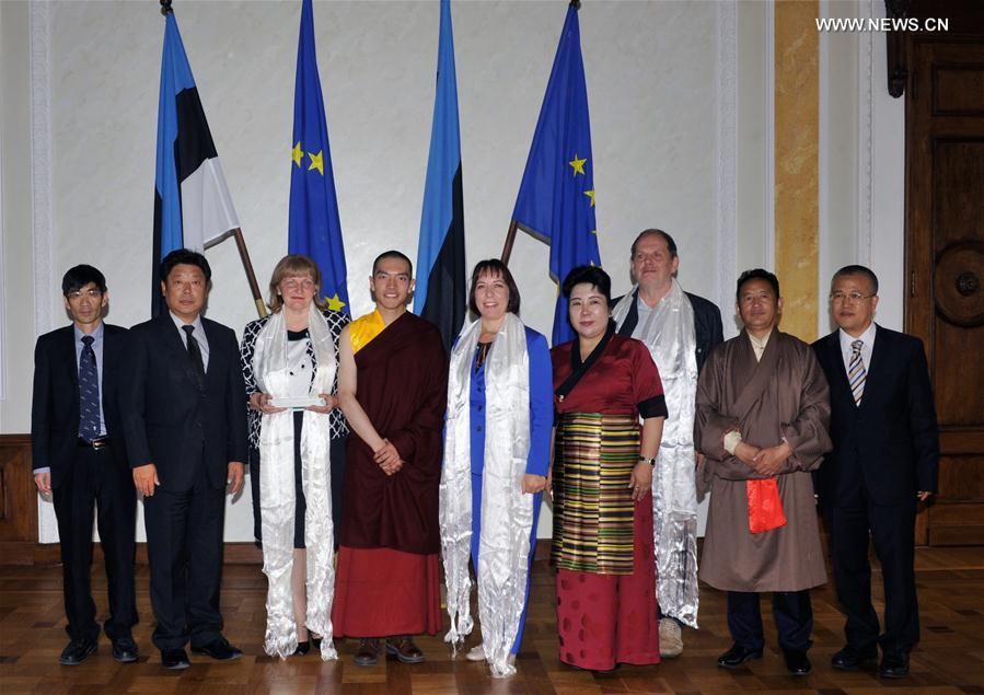 China's Tibetan cultural delegation boosts exchanges with Estonia