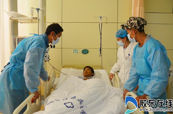 烟台援藏干部救助15岁肝衰竭少年