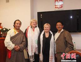 中国西藏文化交流团访问拉脱维亚