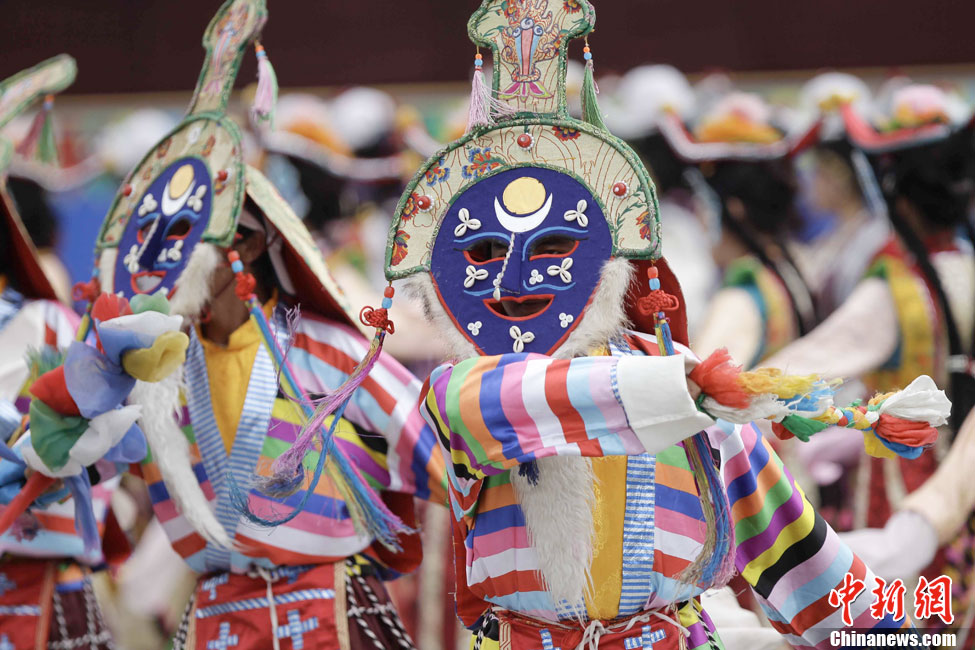 Eight national intangible cultural heritage Tibetan Opera scripts completed