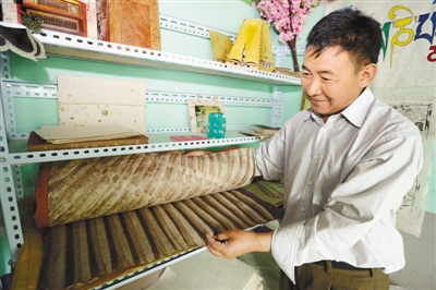 Innovative production of Tibetan paper favored by market