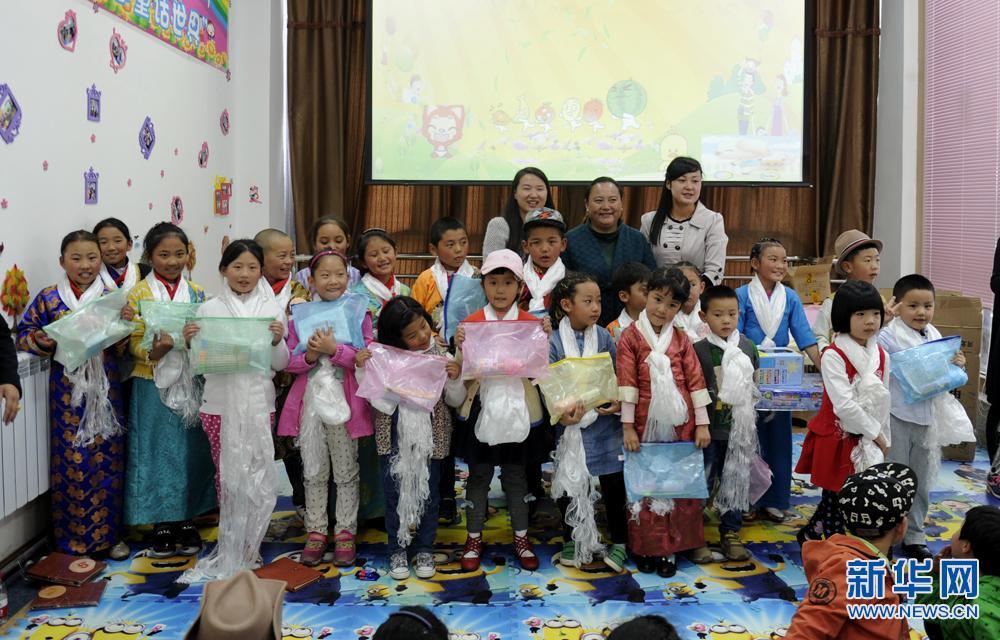 Tibet will ein Jahr lang Kinderlesen fördern