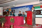 尼泊尔中国书展展示西藏新变化
