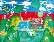次仁卓玛:每幅画都是我的孩儿,都是我孕育的生命