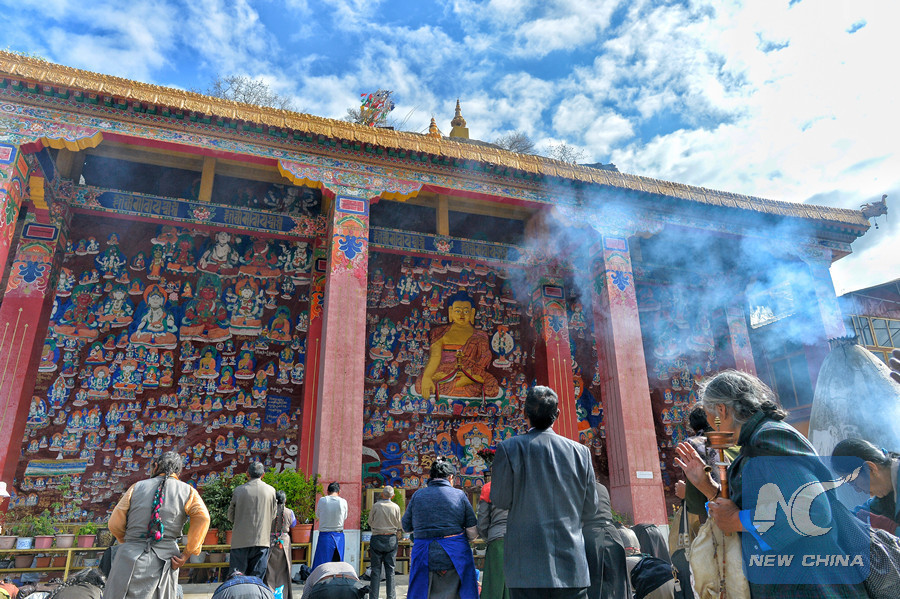 Celebrating Saga Dawa in Tibet