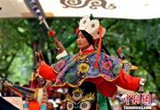Tibetan opera a hit at the Shoton Festival