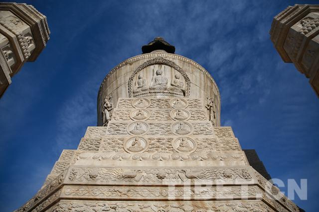 """走进西黄寺 听年轻藏族学者讲述班禅塔的""""前世今生"""""""