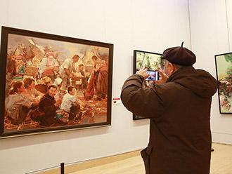 西部少数民族青年美术家创作展在京举行