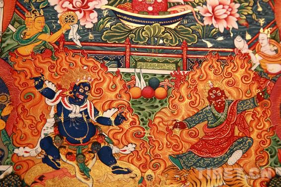 北京周末好去处 中国美术馆精品唐卡展走起