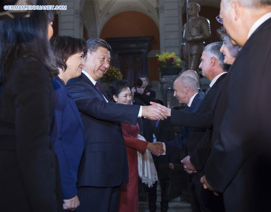 Ma Zhaoxu: Schweiz-Besuch von Xi Jinping von großer Bedeutung