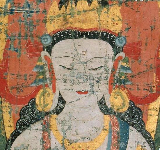 Russisches Museum: Bodhisattva-Thangka