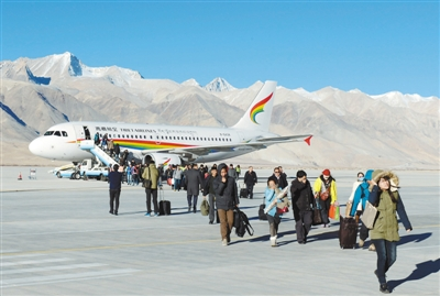 冬游西藏 感受不一样的美
