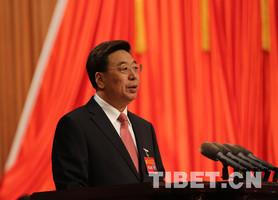 吴英杰出席西藏自治区会议