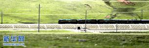 Qinghai-Tibet-Eisenbahn am ersten Tag der Frühlingsfest-Heimreisesaison