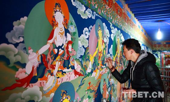 Die zum immateriellen Weltkulturerbe gewählte tibetische Kunst
