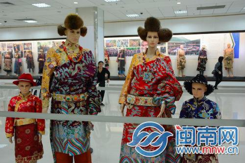 Tibetan costume cultural exhibition held in Fujian