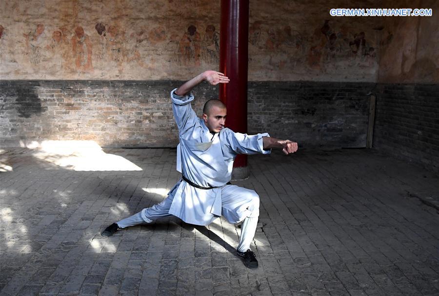 Shaolin-Kampfkunst: Übung macht den Meister