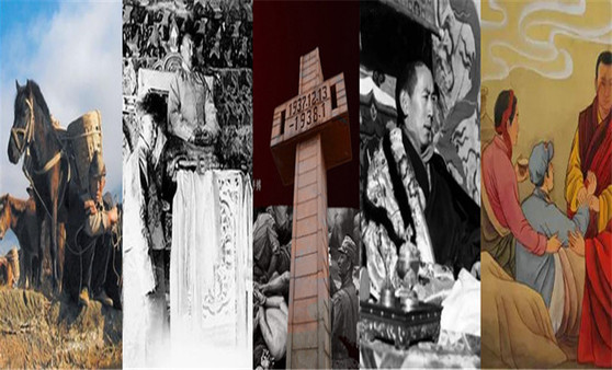 Geschichte: Junge Tibeter, die sich im Widerstandskrieg gegen die japanische Aggression geopfert haben