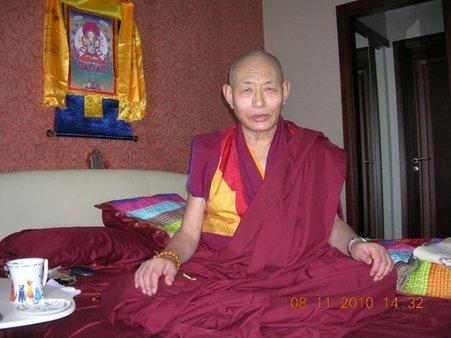 Rinpoche Nyima Gyal Mtsen und seine Vorlesung