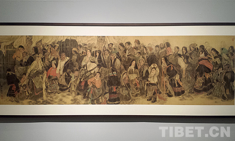 Dunhuang-Kunstausstellung in Beijing