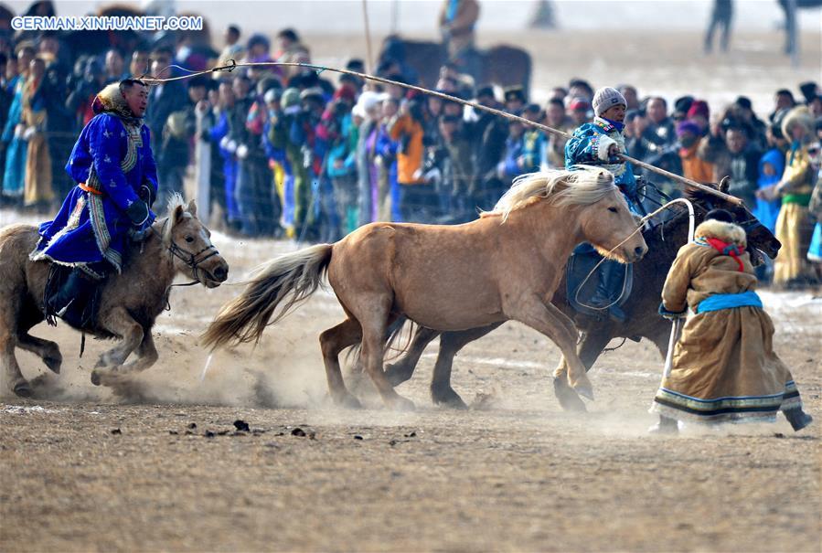 Nadam-Winterfest im Westlichen Ujimqin-Banner eröffnet