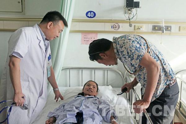 空军总医院成功救治两名青海藏区先心病患儿