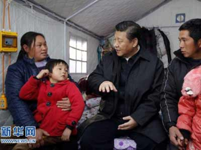 Xi Jinping fordert verstärkte Armutsbekämpfung