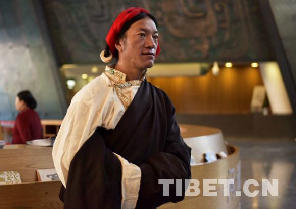Der Viehhirte Tsebong in Nord-Tibet