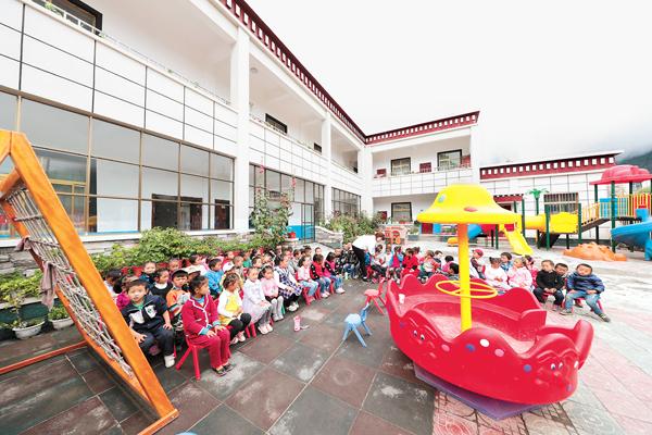 Tibet renoviert schwache Schulen und fördert Bildungsgleichheit