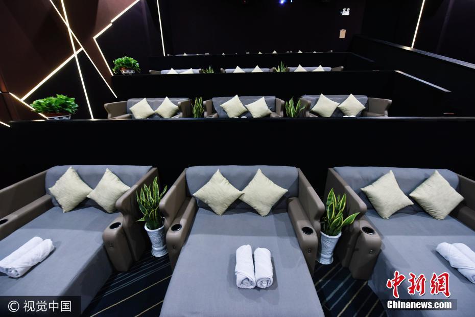 Bettenkino in Hangzhou