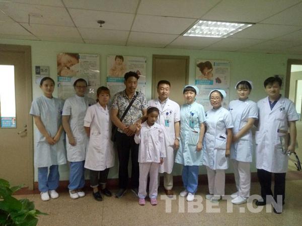 Zwei Kinder mit angeborenen Herzfehlern aus der tibetischen Region werden behandelt